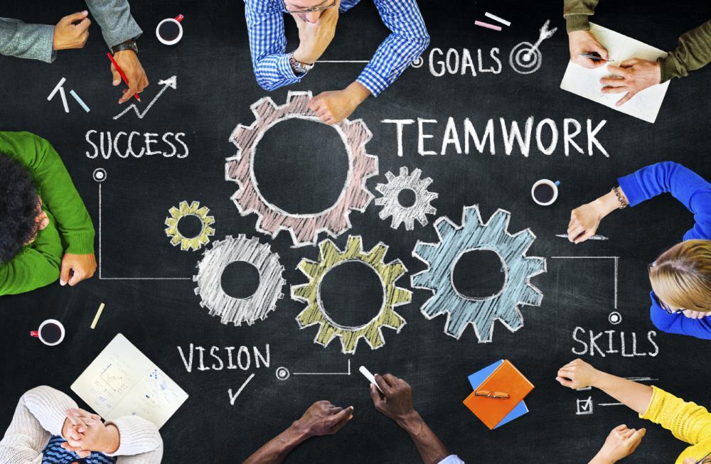 adopt a teamwork mindset