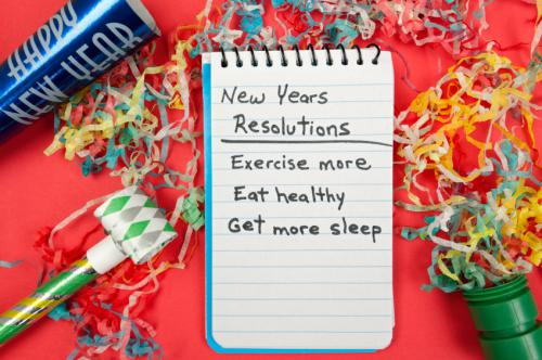 new year's resolutions to take care of yourself