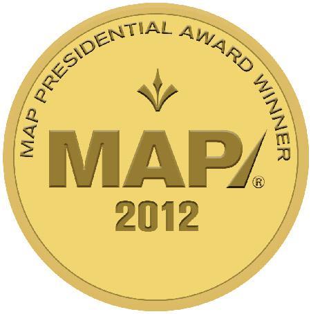 2012 MAP Presidential Award Winners