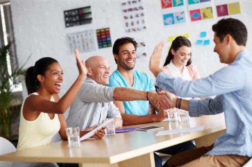 how to reinforce change at work